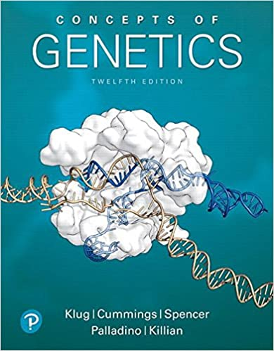 concepts of genetics 12th edition 9780134604718 medicine