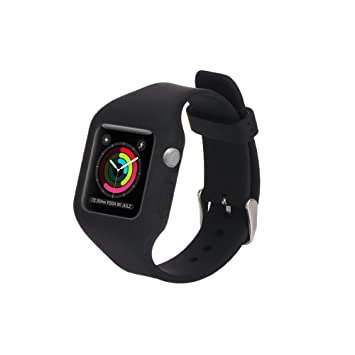 Amazon.com : HYWRDYB Apple Watch Band 38mm with Protective ...