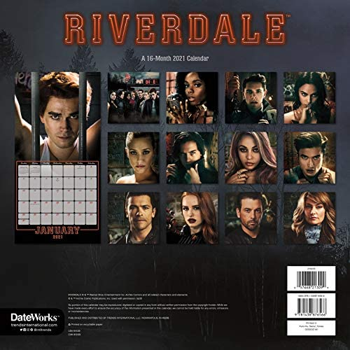 Amazon.: Riverdale Calendar 2021 Set   Deluxe 2021 Riverdale