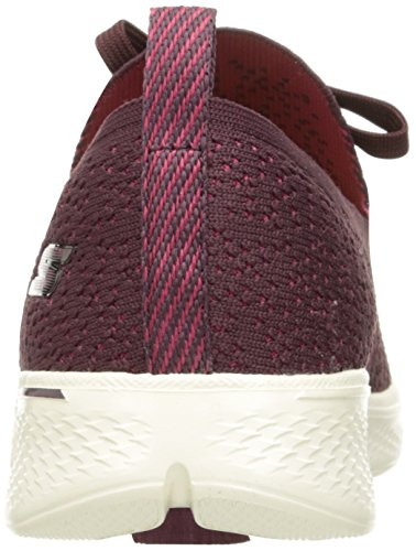 Skechers Donna Red Burgundy Walk Go Allenatori Reward 4 1zAPcq1