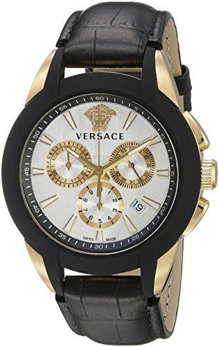 Versace-Mens-VQN030015-Character-Analog-Display-Quartz-Black-Watch