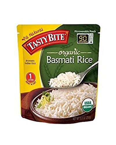 TASTY BITE, Dsp, Og2, Brwn, Basmati, Rice, Pack of 48, Size 8.8 OZ, (95%+ Organic) by Tasty Bite