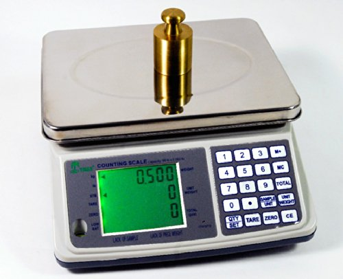 16lb x 0.0005lb Digital Parts Counting Scale Plus - Mid Counting Scale with Check-weighing Function - Inventory Scale - Coin Counting Scale by Tree