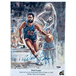 9dd37a8ae19 Walt Frazier Signed Photo - 9 X 11 Poster Paper H23277 - PSA DNA Certified.
