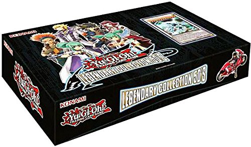 S/e Box (Yugioh TCG Card Game Legendary Collection Set #5 LC5 5D's Box Set - 48 cards (5 mega packs boosters + 3 promo cards))