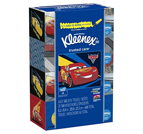Kleenex Facial Tissue Bundle, 4 Pack, 16