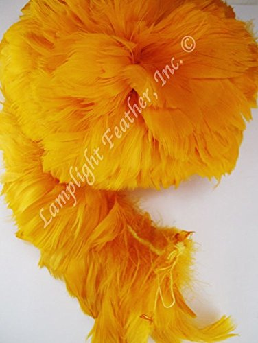 Hawaiian Feather Lei Coquilles (Gold) -