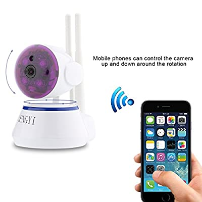IP Camera, Sheng Yi WiFi Security Camera Internet Surveillance Camera Built-in Microphone,Pan/Tilt with 2-Way Audio, Baby Video Monitor Nanny Cam, Night Vision Wireless IP Webcam