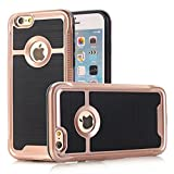 Iphone 5C Case,Fusicase[Armor Sereies] New Fashion Cool Heavyduty 2 IN 1 Body Protective Shockproof PC+TPU Brush Armor Case Cover For Iphone 5C