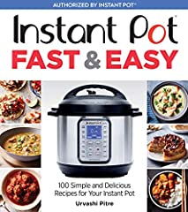 Fully authorized by Instant Pot—brand new recipes from the best-selling author of Indian Instant Pot Cookbook and The Keto Instant Pot CookbookIndian Instant Pot Cookbook by Urvashi Pitre is already one of the top-selling cookbooks in its cat...