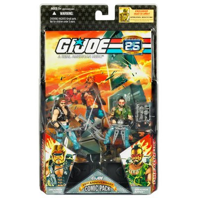 "G.I. JOE Hasbro 25th Anniversary 3 3/4"" Wave 2 Action Fig..."
