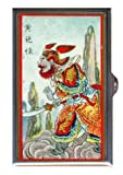 Best Case In Point 4.0 Pill Boxes - Warrior China Retro Color Art Guitar Pick or Review