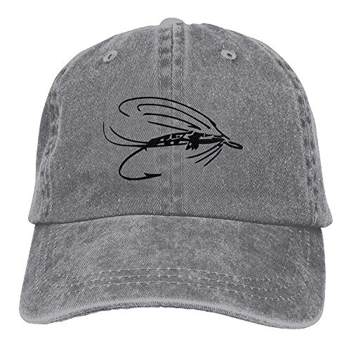 Hat Male Fishing béisbol Caps Gorras Baseball Stretch Adjustable Lure Denim Fly ruishandianqi FqZnAgB