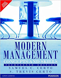 MODERN MANAGEMENT SAMUEL C CERTO EPUB