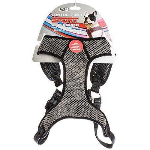 Black L (28-36\ Black L (28-36\ 6984 36 Gry Blk 1  Sport Harn Sport Comfort Harness