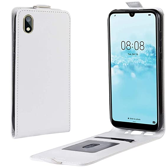 Amazon com: Huawei Y5 2019 Wallet Case, Premium Leather Case
