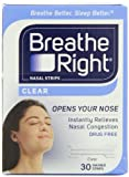 Breathe Right Nasal Strips, Small/Medium, Clear