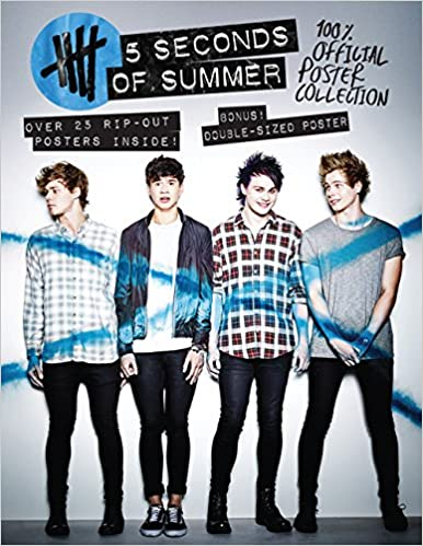 5 Seconds Of Summer Poster Collection Browntrout Publishers Cor Inc Browntrout Publishers Not Available Na 9781465047212 Amazon Com Books