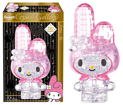 HANAYAMA 3D Pazzle Crystal Gallery My Melody 37 Pieces by Puzzles