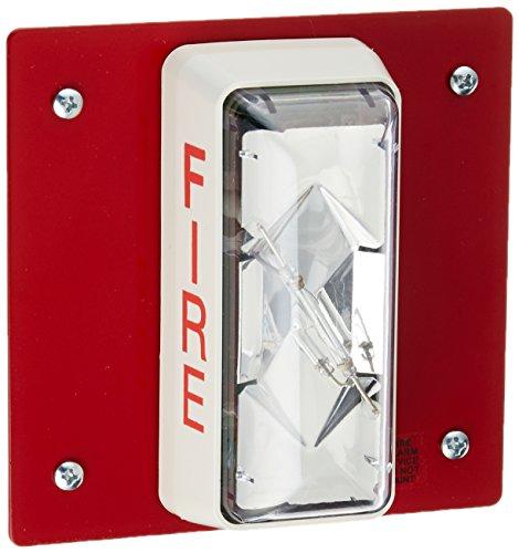 Est Edwards CS405-7A-T Weatherproof Alarm Sync Strobe, Outdoor, Red, 24-VDC (Lighting Est Outdoor)