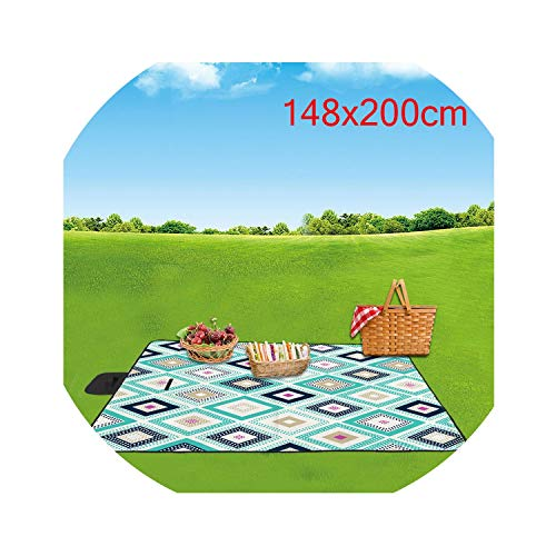 - Go get it now New 1PC Plaid Picnic Mat Outdoor Waterproof Camping Folding Picnic Blanket Moisture Resistant Widening Pad,A