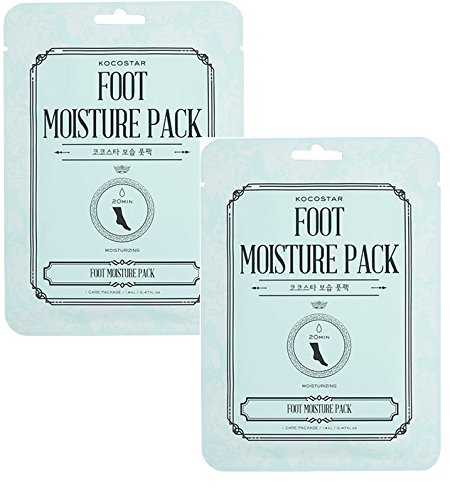 Pack of 2 Kocostar Korean Beauty Foot Moisturising Sock Pocket Packs Danielle