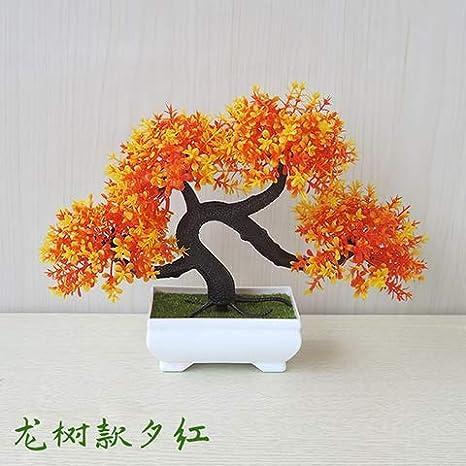 Wangleta il verde artificiale di piante in vaso piccolo in vaso da ...