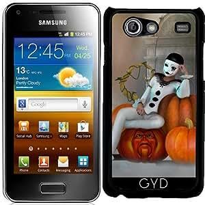 Funda para Samsung Galaxy S Advance (i9070) - Payaso Calabaza by Illu-Pic.-A.T.Art