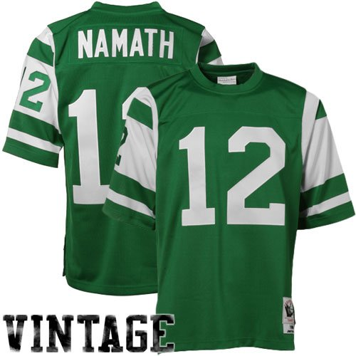 Mitchell & Ness New York Jets 1968 Joe Namath Authentic Throwback Jersey Size -