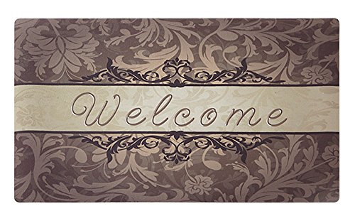 Amagabeli Rubber Front Door Welcome Mat Inside Carpet Entry Way No Slip...