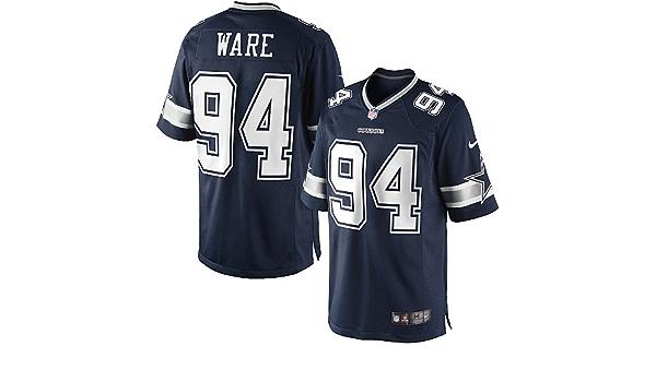 Amazon.com : DeMarcus Ware Jersey: Dallas Cowboys #94 Limited Navy ...