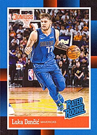 2018-19 Panini Instant  RR3 Luka Doncic Rated Rookie Basketball Card - 1988  Donruss 6aa272701