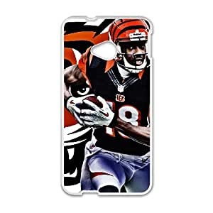 Cincinnati Bengals HTC One M7 Cell Phone Case White persent zhm004_8443298