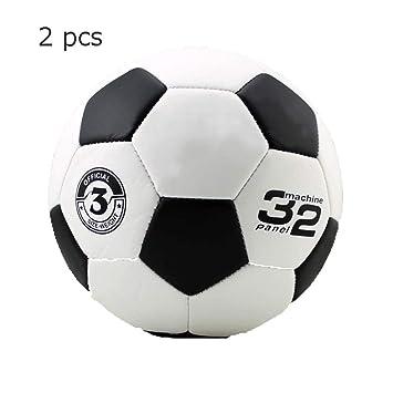 WZB Equipo de Fitness Balón de fútbol Compuesto Duradero Tamaños 3 ...