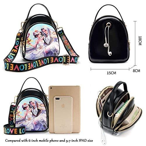 Spfazj New Della Piccola Patte Borsa Coreano Messenger 2018 B Spalla Versione Femminile Sacchetto Mini Femmina Stampa Di Bag FwRgyqwf