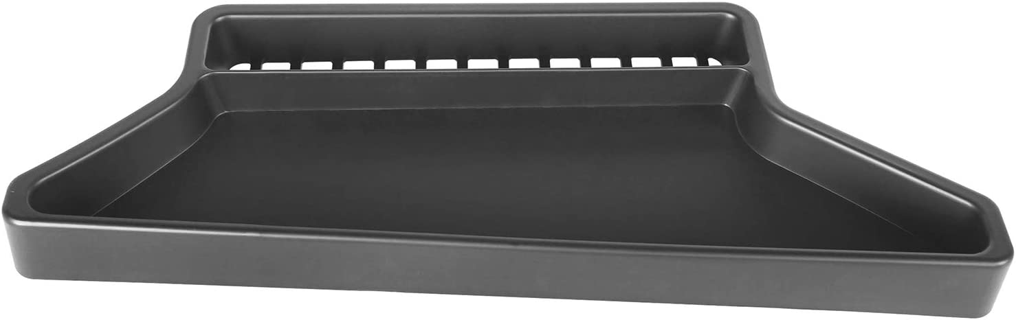 Hooke Road Jeep JL Front Dashboard Tray Storage Box Container Organizer for 2018-2020 Jeep Wrangler JL