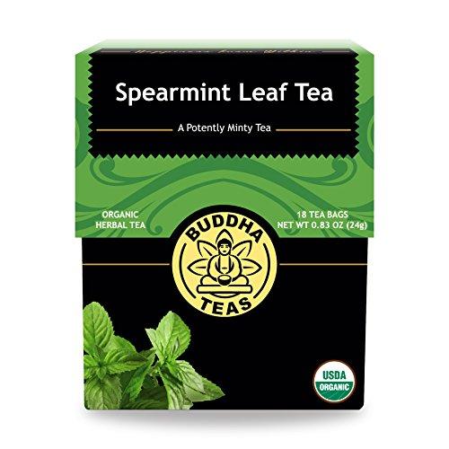 Organic Spearmint Tea Caffeine Free Bleach Free