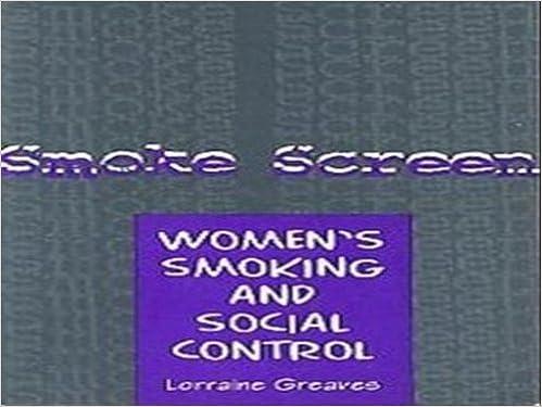 Book Smoke Screen: Women Experiences of Tobacco
