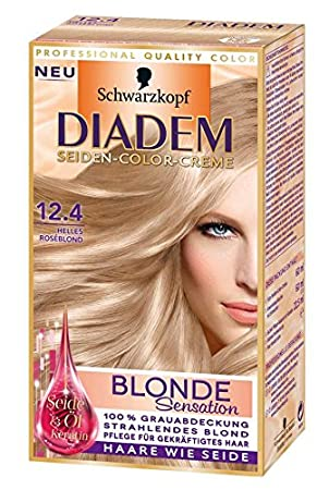 Diadem Colouring Blonde Sensation Light Rose Blonde 124