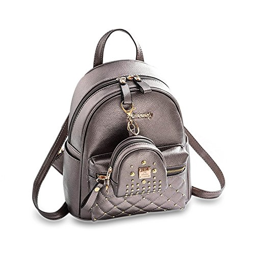 be5a166cd96ebb Cute Small Backpack Mini Purse Casual Daypacks Leather for Teen and ...