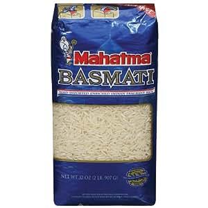 Mahatama, Basmati Rice, 2lb Bag