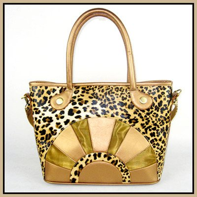Backbone Leopard Print Canvas Pet Carrier with Faux Leather Leopard Print Pet Carrier