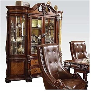 Amazon.com - China Cabinet Buffet Hutch Traditional English Style ...
