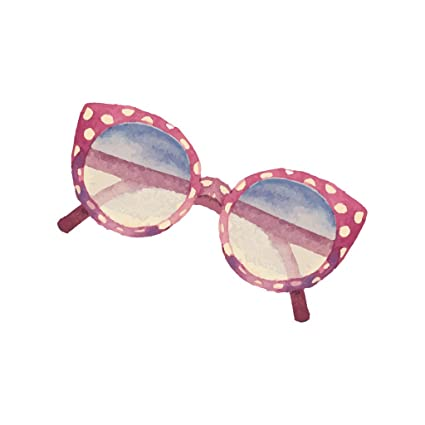 2b9ebc8d8b2 Amazon.com: Watercolor Women's Shades Sun Glasses - Vinyl Decal for Outdoor  Use on Cars, ATV, Boats, Windows and More - Color 10 inch: Automotive