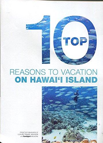 TOP 10 REASONS TO VACATION ON HAWAII ISLAND - BROCHURE