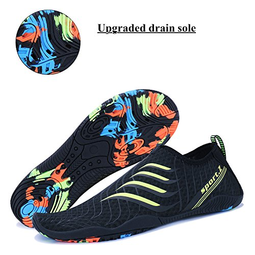Shoes Swim Aqua 3 Quick Pool WXDZ Socks Water Men black Walking Sports Beach Shoes Women Dry Running Barefoot wvq8xvP