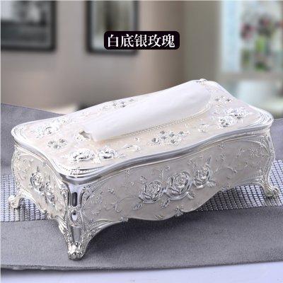 XOYOYO Retro europeo elegante mobiliario de hogar Three-Piece Tejido Caja original combinación package palillo Cenicero, cajas de pañuelos Silver Rose: Amazon.es: Hogar