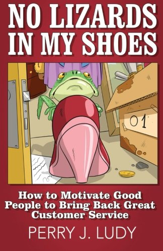 No Lizards In My Shoes: How to Motivate Good People to Bring Back Great Customer Service
