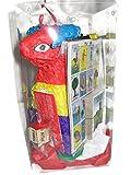 Birthday Piñata Gift Box Office Party Celebration Pinata Loteria Naipes Candy Salsa Bowl (Bull)
