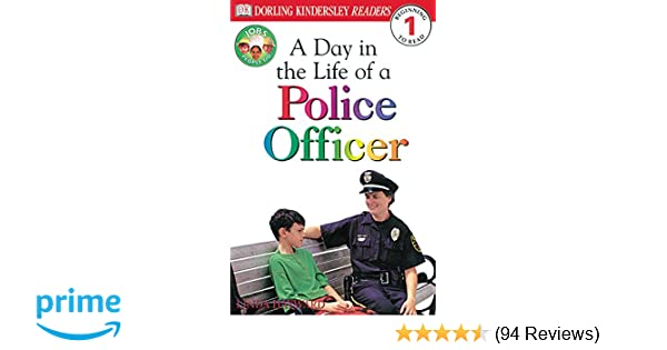 Amazon com: A Day in a Life of a Police Officer (Level 1: Beginning